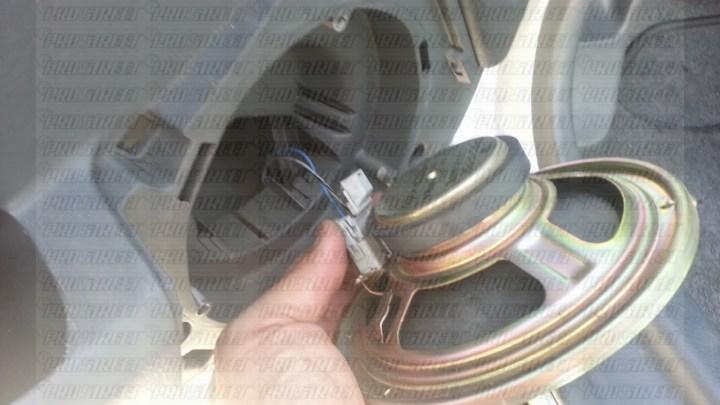 2003 honda civic rear speaker wiring