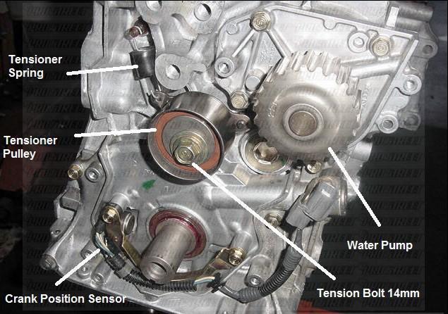 How To Change Your B18C1 DOHC VTEC Timing Belt
