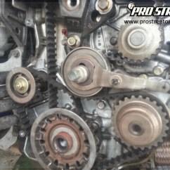 1997 Honda Accord Timing Belt Diagram Civic Radio Wiring Dtc P0335 - How To Change A Crankshaft Position Sensor