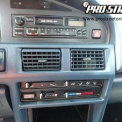 Wiring Diagram For Toyota Corolla Stereo 2004 Honda Odyssey Headlight How To Because Of The Dashboard And Existing Factory Tape Deck Your Has All Wires Speakers