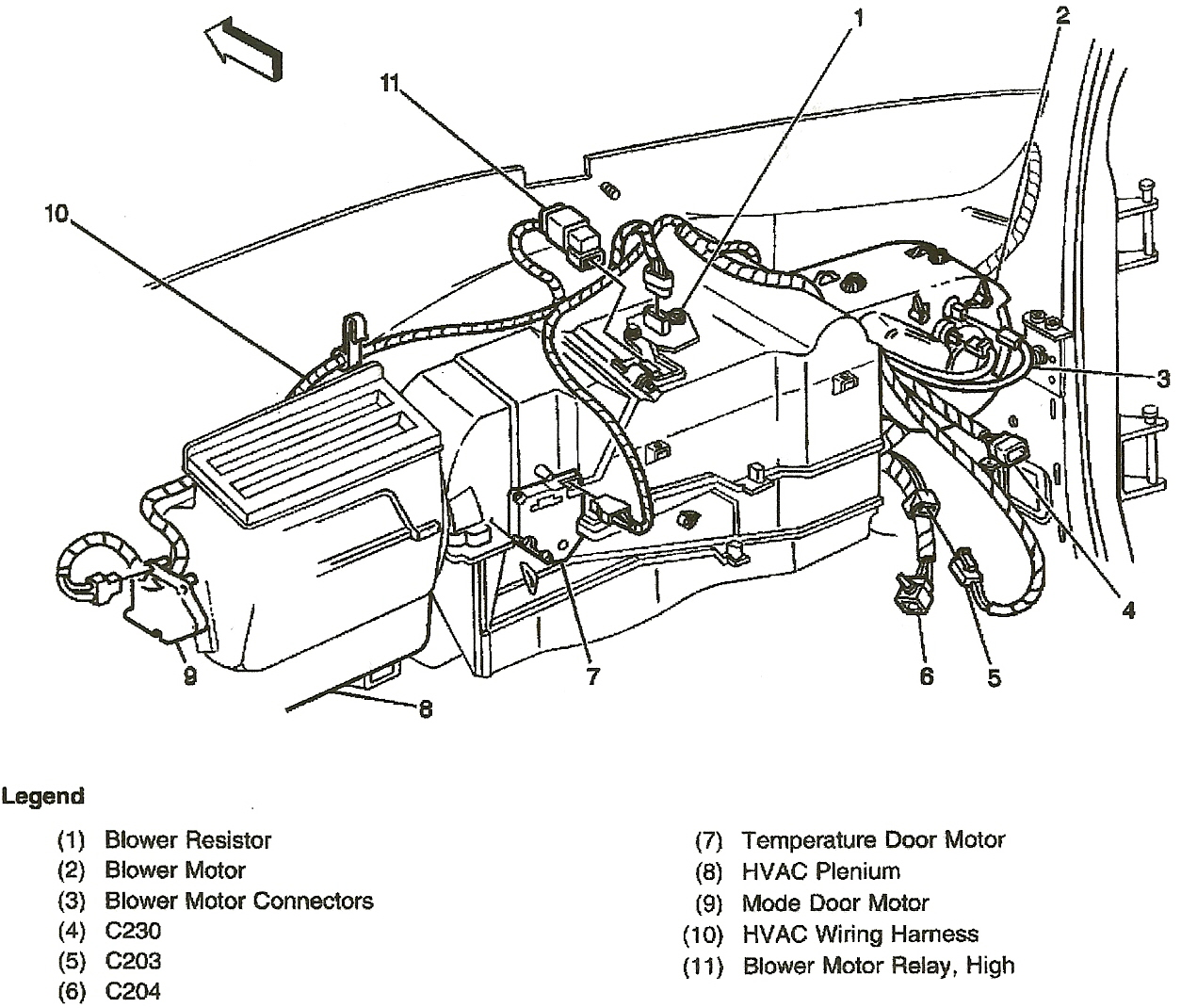 Wiring Diagram For Blower Motor In 2004 Chevy Impala Motor