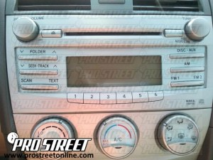 How To Toyota Camry Stereo Wiring Diagram  My Pro Street