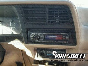 How To Ford Ranger Stereo Wiring Diagram  My Pro Street