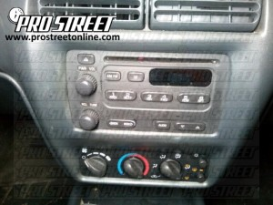 Chevy Cavalier Stereo Wiring Diagram  My Pro Street