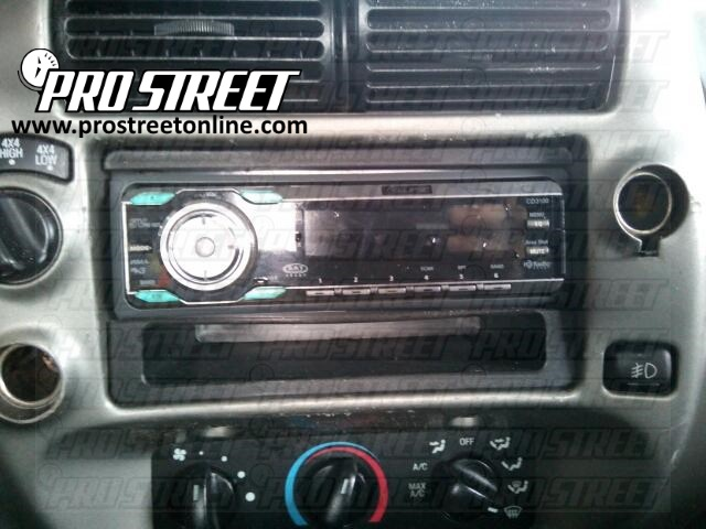 how to ford ranger stereo wiring diagram  my pro street