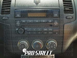 2006 nissan altima radio wiring diagram 2000 sentra engine how to stereo my pro street 3