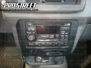 1999 nissan altima speaker wiring diagram 2002 mitsubishi lancer alternator how to frontier stereo - my pro street