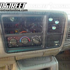 2001 Chevy Trailblazer Radio Wiring Diagram 1991 Nissan 240sx Headlight How To Tahoe Stereo My Pro Street Chevrolet Guide
