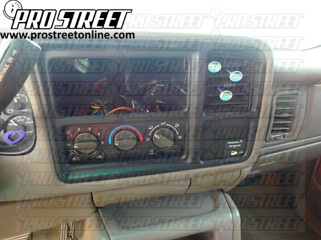 2004 chevy silverado stock radio wiring diagram pressure switch air compressor how to tahoe stereo my pro street chevrolet guide