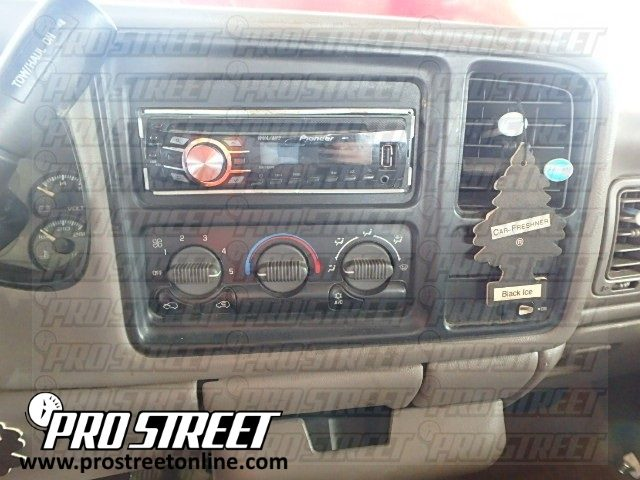 Radio Wiring Diagram For 89 Chevy Truck