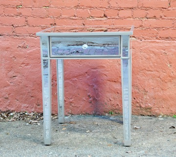 mirrored-end-table