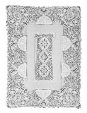 Long Lace Tablecloth Rentals