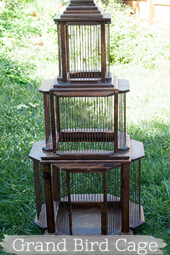 Grand Antique Bird Cage