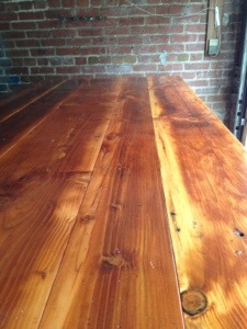 Our New Thick Top Farm Tables Are Here!