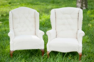 Vintage chairs for rent in DC VA MD