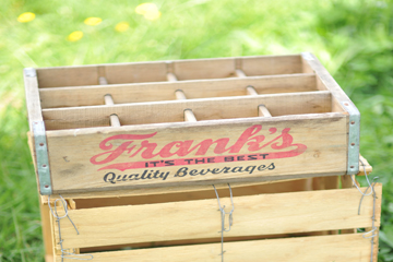 Wooden Soda Crate