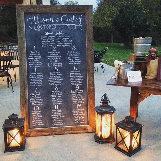 Our new 6 ft reclaimed wood chalkboard making her debut at tonight's wedding @thebarnsathsv with the talented @type_a_society and @prettyinprint.  Thanks to hubby @wardmanwares for taking on this last minute build!  #reclaimed #vintagerentals #barn #wedding #calligraphy #vawedding #eventrentals #events #acreativedc #create