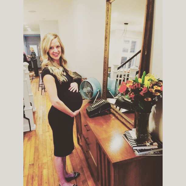 A little pre baby-shower pic!  #vintage #mamatobe #preggo #mom #dc #dcevents #vintagerentals