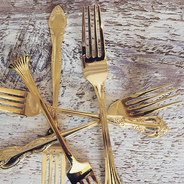 It's official: I'm a hoarder.  300 sets of silver plated and 110 sets of gold flatware is called a problem ! ...... #vintagerentals #vintage #weddings #eventstyling  #weddinginspo  #weddings #weddinginspiration #risingtidesociety #wedding #dcwedding #vintageweddings #farmwedding #virginia wedding #weddinginspiration #eventdecor #acreativedc #barnwedding #picking #vineyardwedding #weddingphotos #loudoun #barnfinds #dc #dcevents