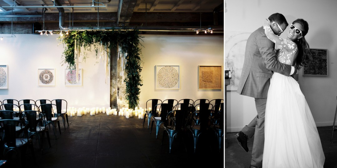 DC Modern Gallery Wedding