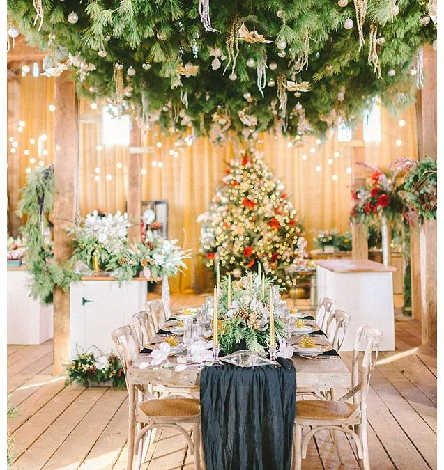 Hope Flower Farm Holiday Open House || Holiday Farm Table Rentals || Waterford, VA