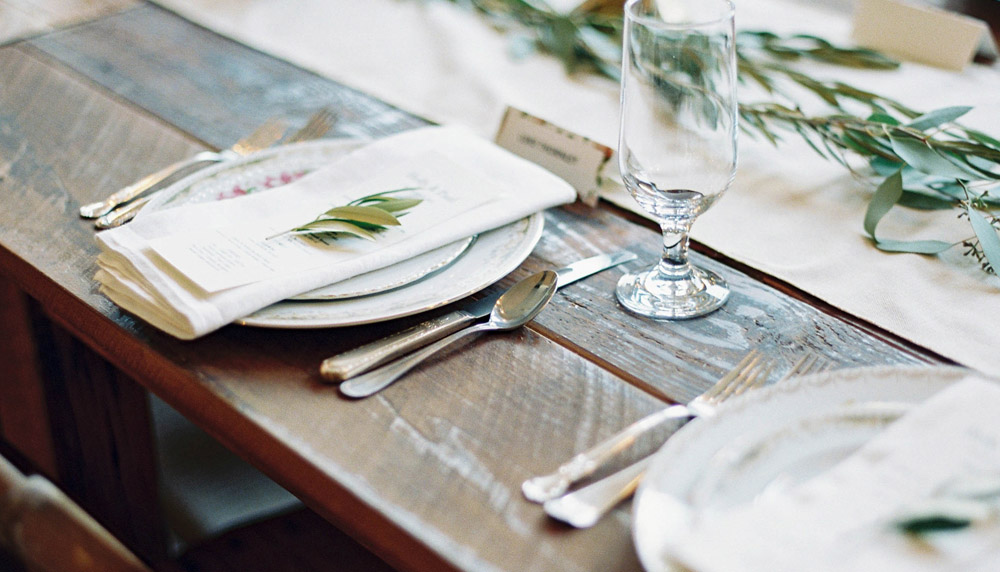 Authentic Baltimore Farm Table Rentals