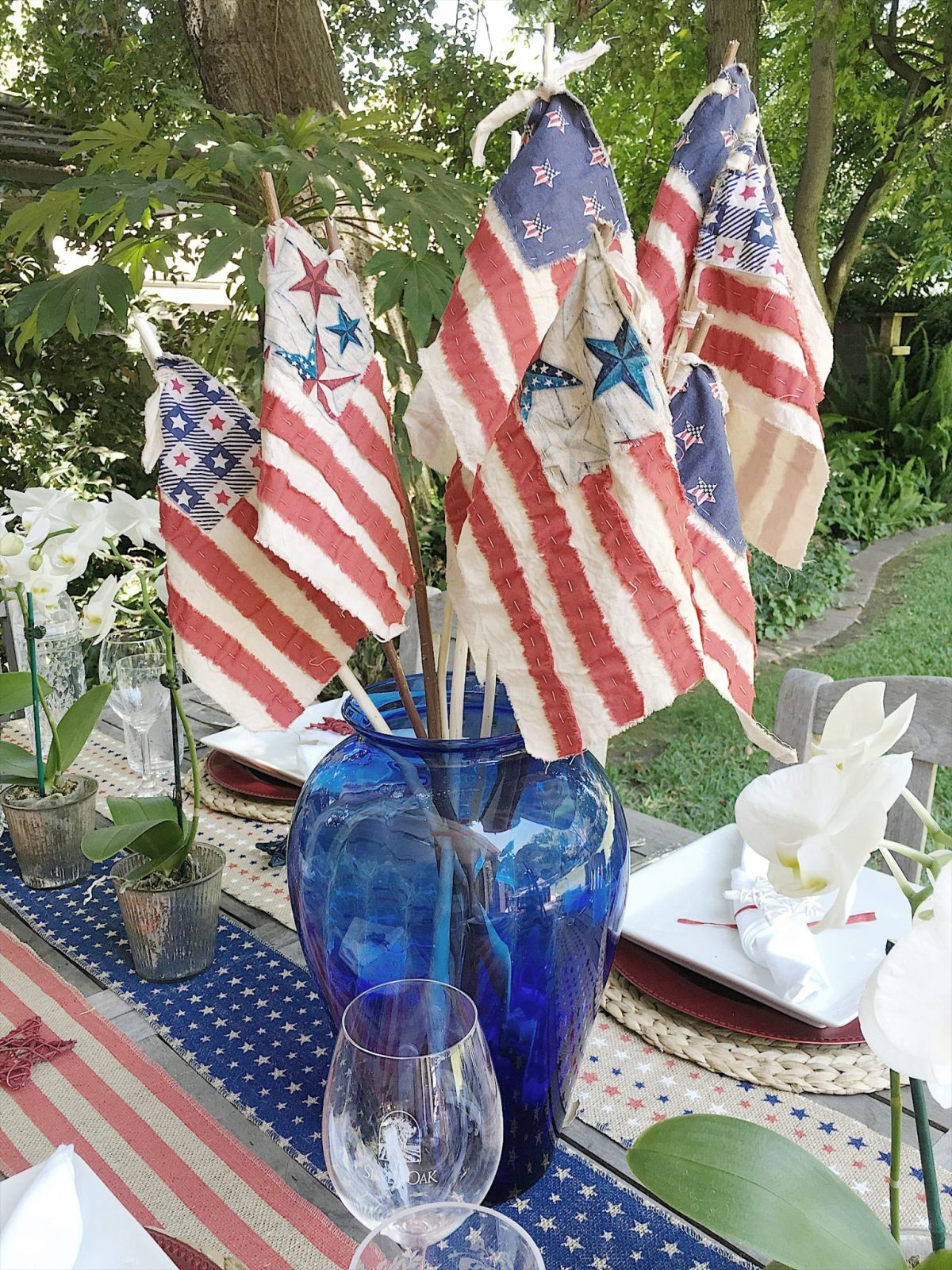 Make It Yourself Fourth Of July Flags My 100 Year Old Home