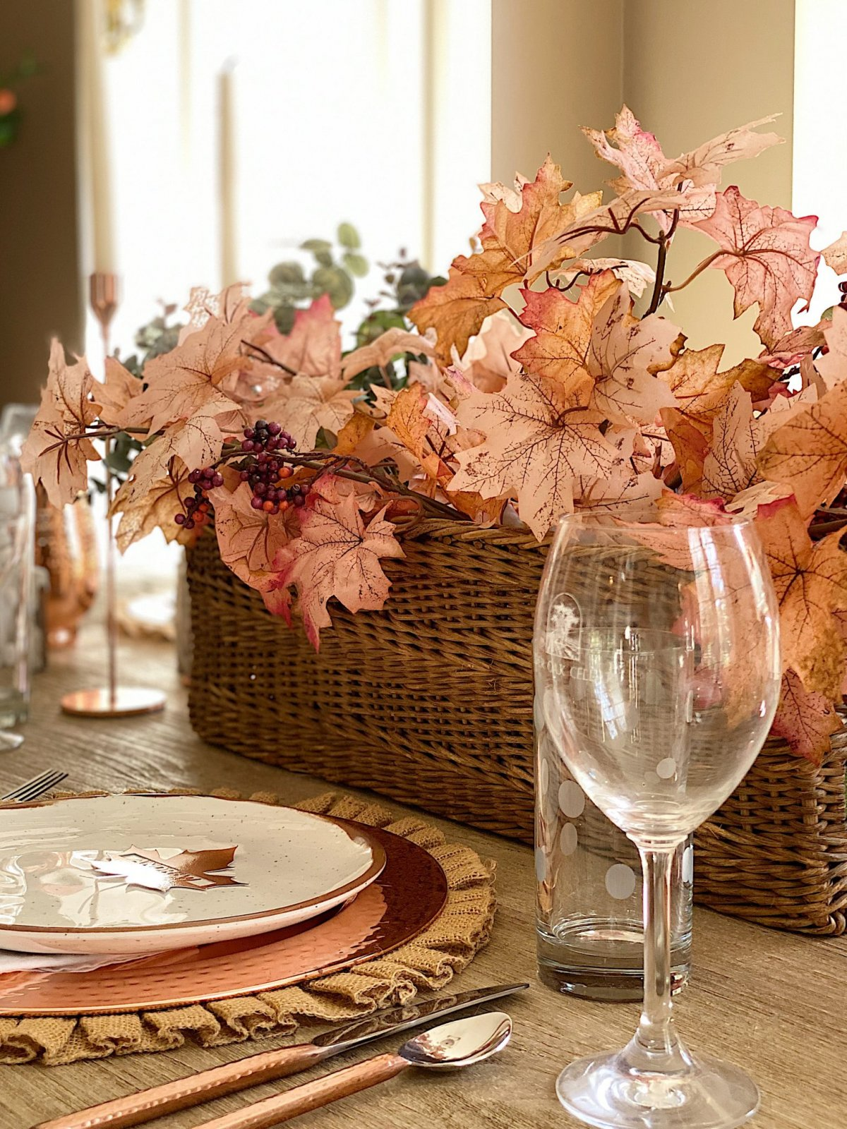 How to Set a Thanksgiving Table 2