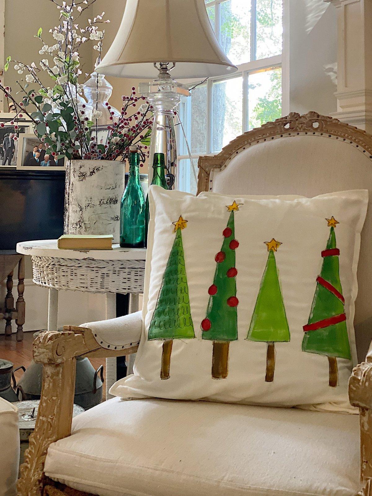 Christmas Craft DIY Pillow