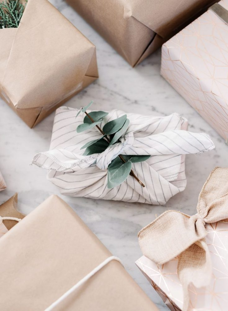 Make your own wrapping paper this year. Get creative and check out this helpful post.