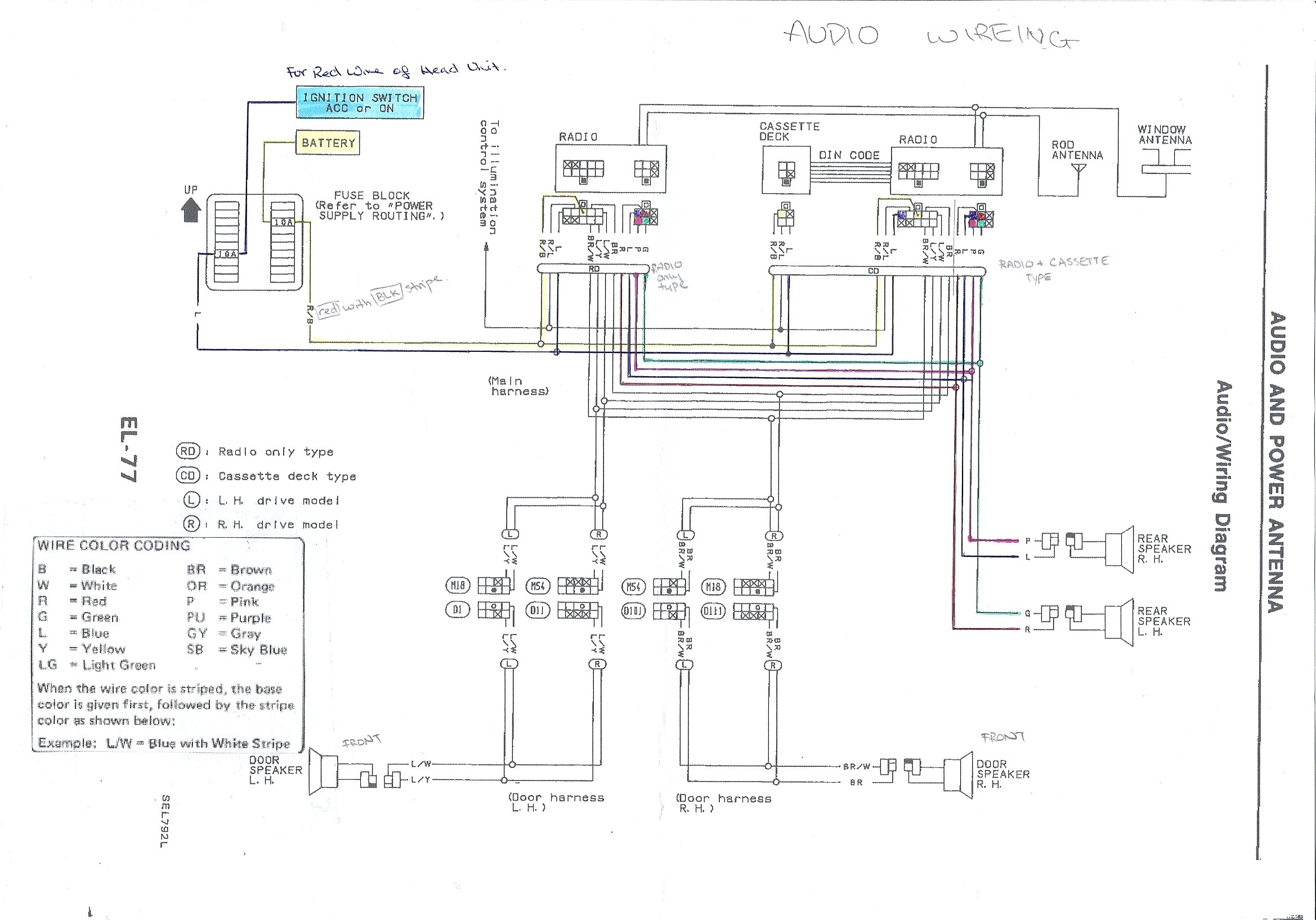 180sx Stereo Wiring Diagram My180sx