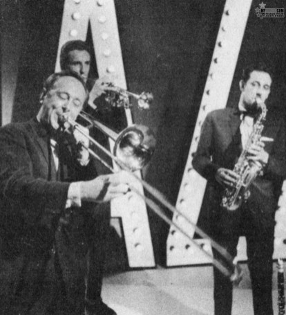 The Trad Jazz scene would not be complete without CHRIS BARBER and his BAND, and of course, CHRIS and the boys have made several musical appearances.