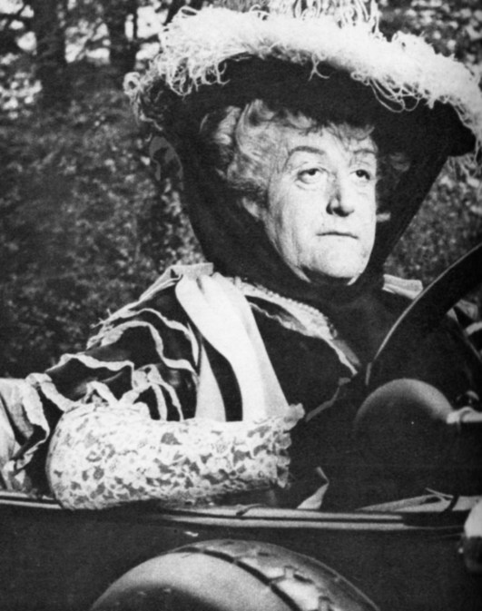 """In """"The Mouse That Roared"""" he played three roles including that of The Duchess of Grand Fenwick"""