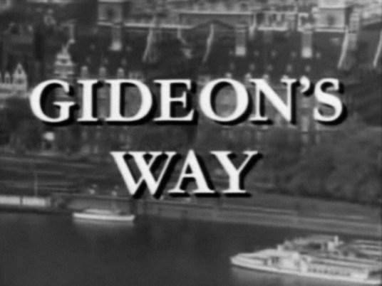 Gideon's Way title card