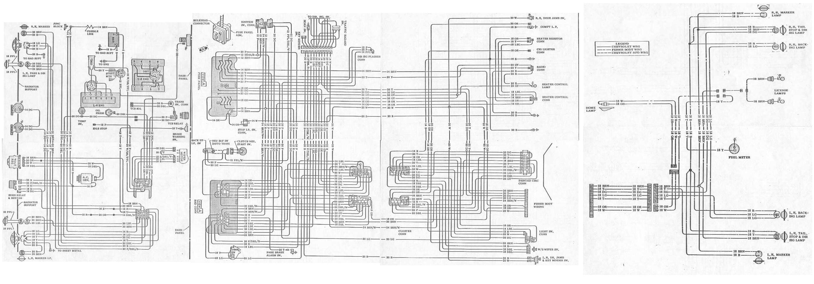69 firebird wiring diagram 96 civic ignition switch 1973 pontiac harness get free image