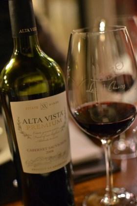 Wine at Lares de Chacras