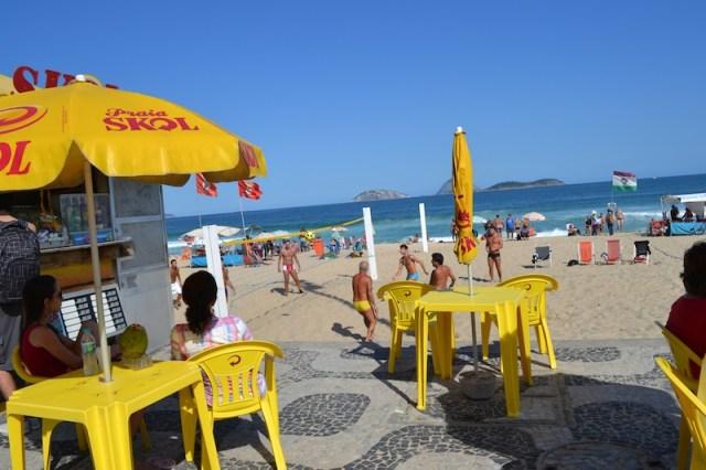 ipanme beach vendors