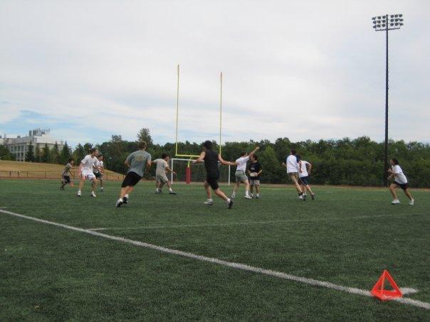SFU frisbee game time
