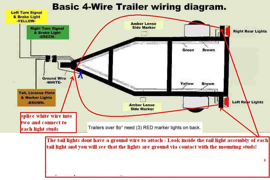 285846d1272548628 official autox trailer tire trailer picture thread trailerwiringdiagram_4_wire wiring diagram for car trailer lights efcaviation com 4 wire trailer lights diagram at bayanpartner.co