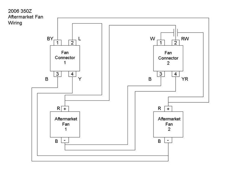 2005 350z cooling fan wiring diagram