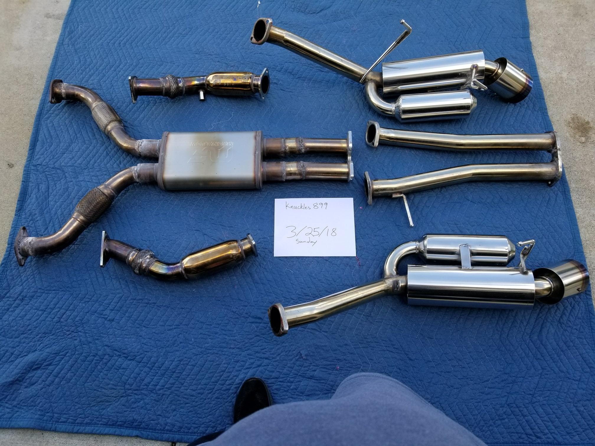 hks replica x pipe and megan racing tp