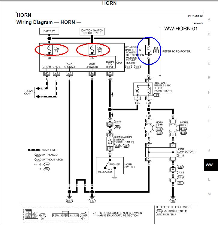 Z Horn Diagram Schematics Wiring Diagrams Fuse Box For F
