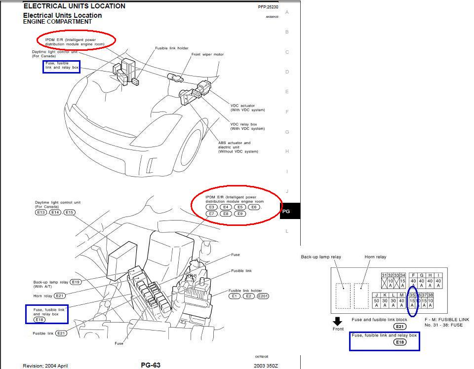 350z Horn Diagram 350Z Rear End Diagram • Buccaneersvsrams.co