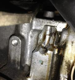 broken area around the oil pressure sensor help image jpg [ 3263 x 2447 Pixel ]