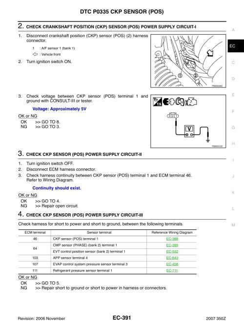 small resolution of  350z crankshaft position sensor wiring basic guide wiring diagram u2022 97 intrepid crankshaft position sensor