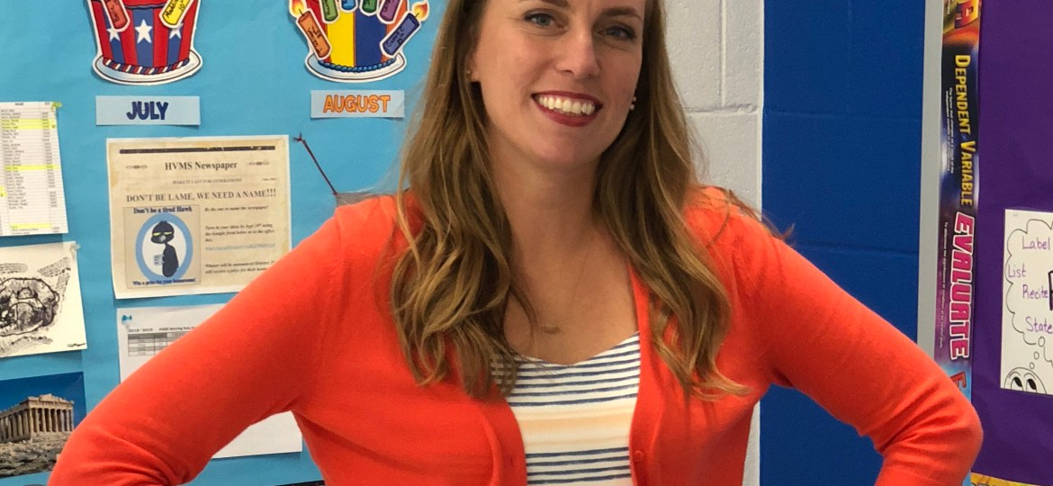 Teacher Spotlight - Cori Hackworth