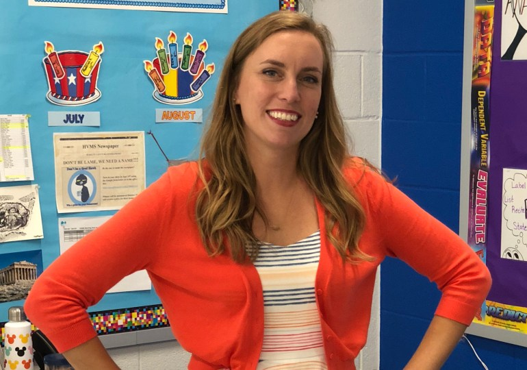 Teacher Spotlight - Cori Hackworth