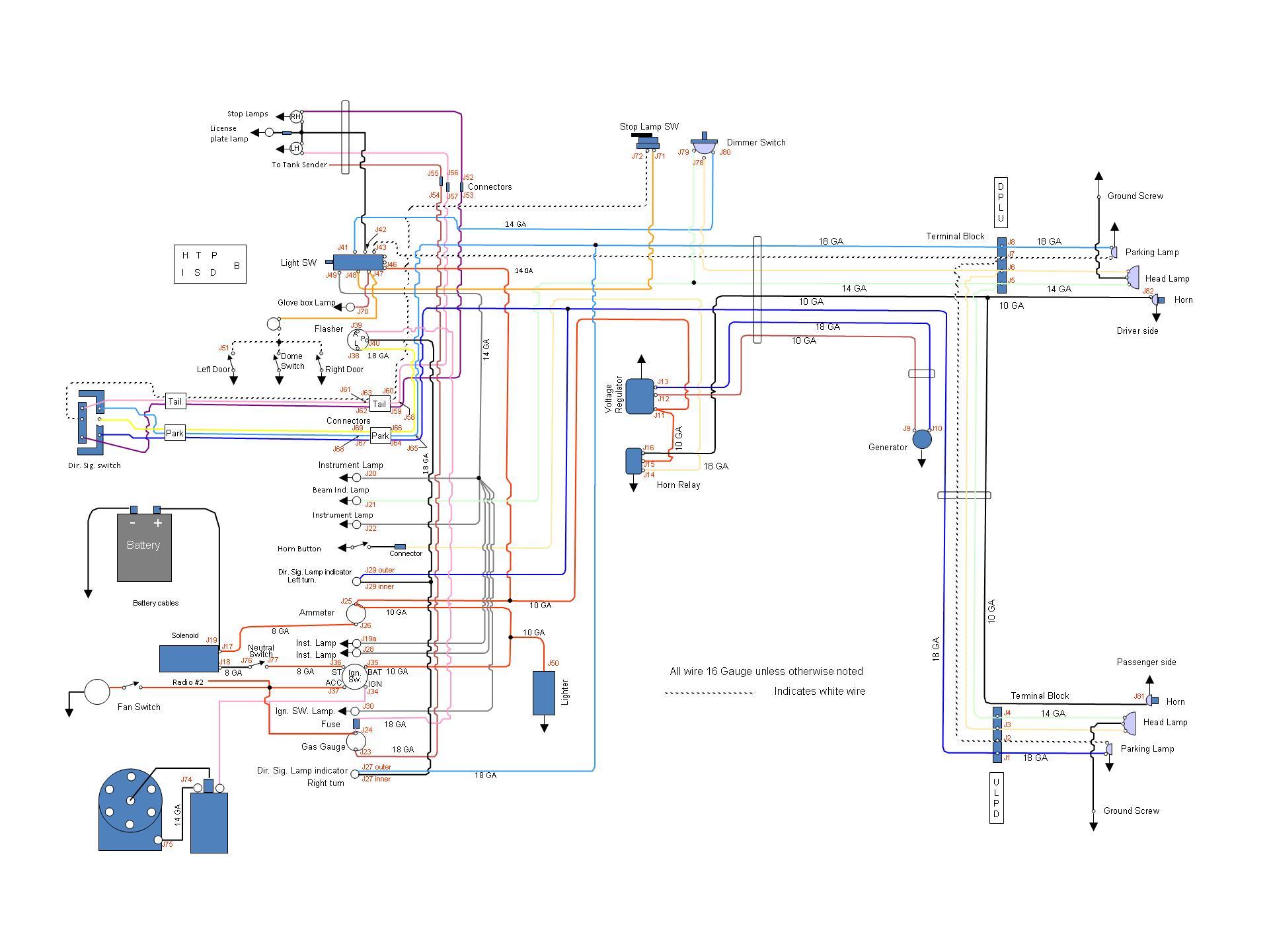 1953 Chevy Turn Signal Wiring - Wiring Diagram G8 on