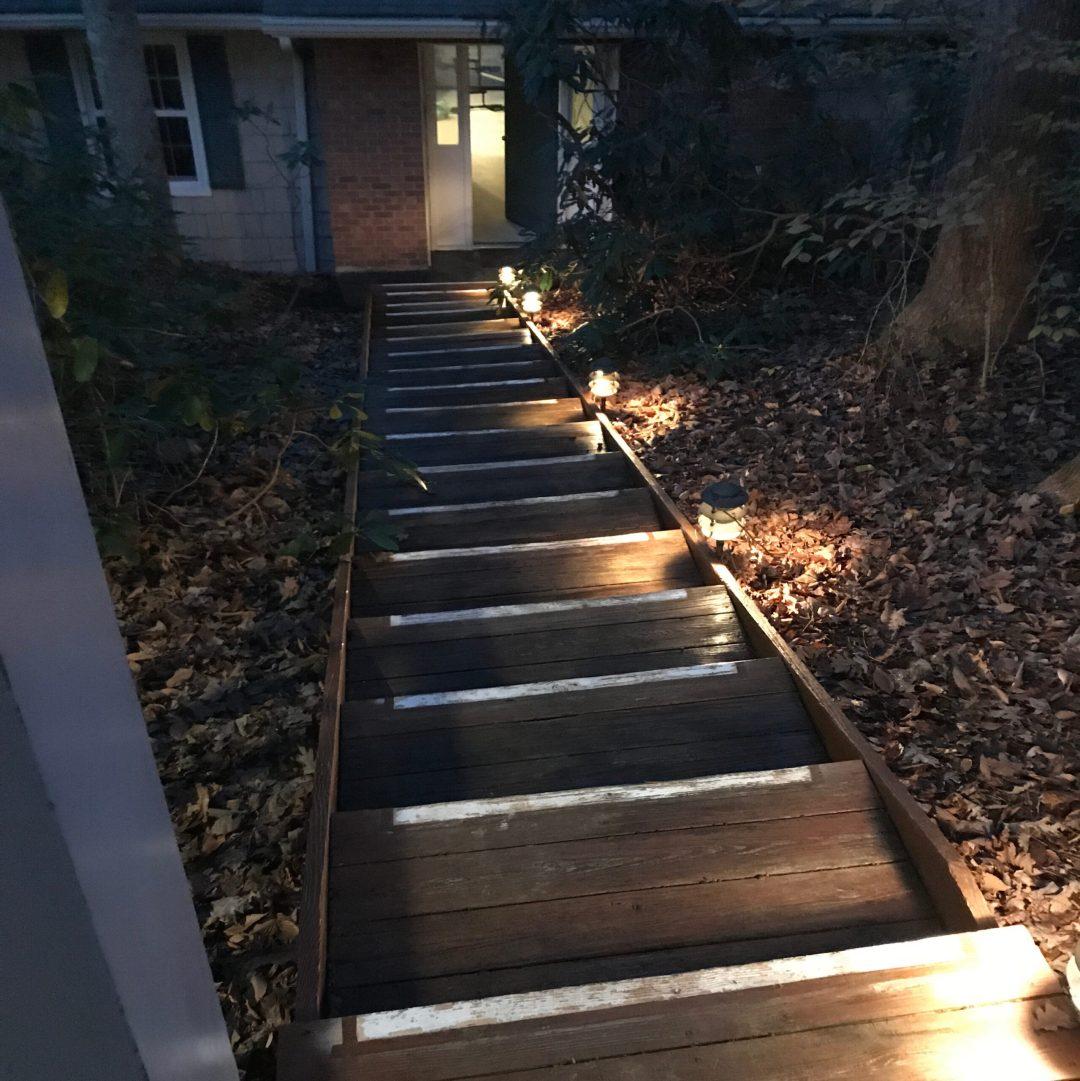 Pagoda Staircase lighting LED