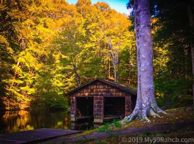 Lake Boathouse